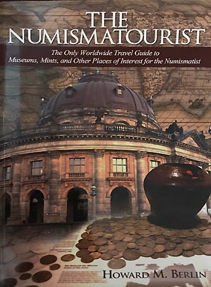 The Numismatourist, book cover.